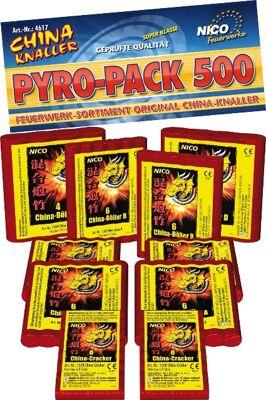 Pyro Pack 500 Knall Sortiment