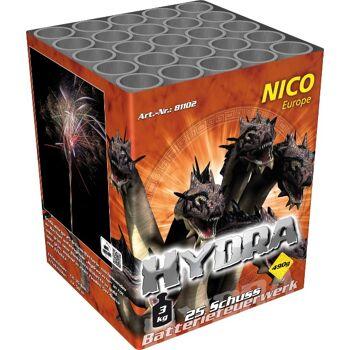 Hydra 25 Schuss Batteriefeuerwerk