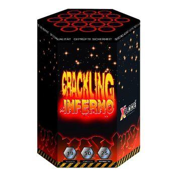 X Plode Batteriefeuerwerk Crackling Inferno