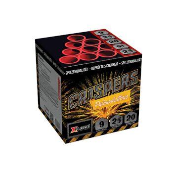 X Plode Batteriefeuerwerk Crispers