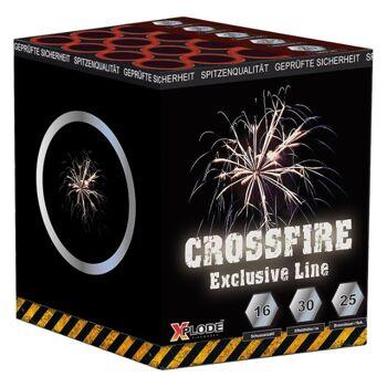 X Plode Batteriefeuerwerk Crossfire