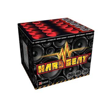 X Plode Batteriefeuerwerk Hard Beat