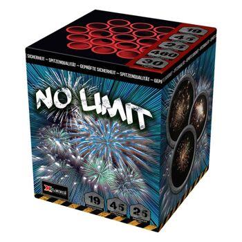 X Plode Batteriefeuerwerk No Limit - XXL Feuerwerksbatterie NEM 380 G