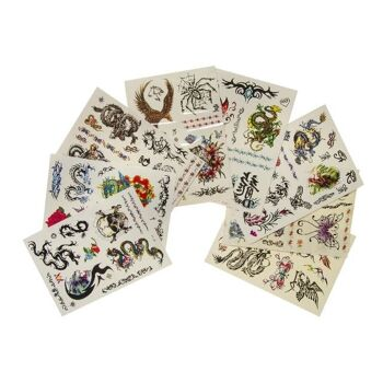 21-9701, Tattoo Set auf Karte