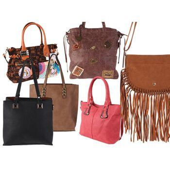 beliebt kaufen ca603 93f8b Damen Trend Taschen Tasche Shopper Handtasche Umhängetasche Schultertasche  Mixposten - 6,49 Euro