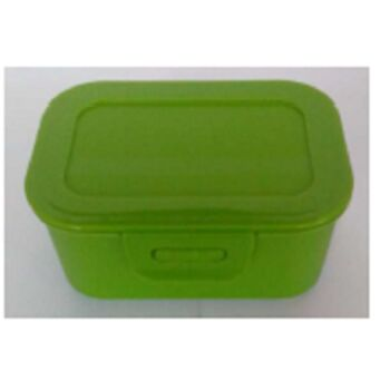 12-397400, RIVAL Lunchbox 12x8x5,5 cm mit Clipverschluss, Butterbrotdose, usw