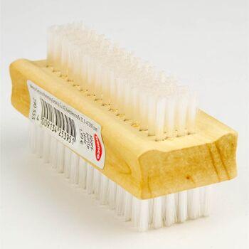 28-253951, holz Handwaschbürste und Nagelbürste