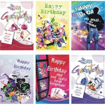 28-511118, Karten Geburtstag mit Spruch, Geburtstagskarten, Glückwunschkarten