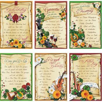 28-567917, Karten Geburtstag mit Spruch, Geburtstgskarten, Glückwunschkarten