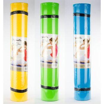 28-592312, Yogamatten 172 x 60 cm, 6 mm dick, aus EVA, Yogamatte