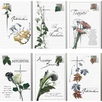 28-866003, Karten Trauer, Trauerkarten