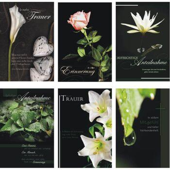 28-866805, Karten Trauer, Trauerkarten