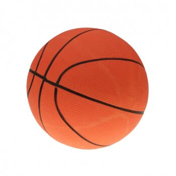 10-546770, Aufblasbarer Basketball 25 cm, Beachball, Wasserball, Fussball, Spielball, Aufblasball