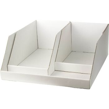 28-90009725, Verkaufsschütte 50 x 54 x 20 cm, Kartonschütte Verkaufsdisplay