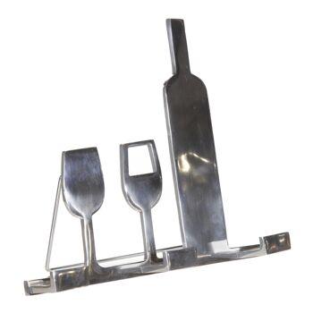 17-60432, Metall Kochbuchhalter 30 x 26 cm