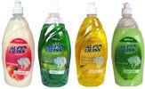 Geschirrspülmittel, Spülmittel ALPINWEISS 4- Sorten Lemon, Grapefrukt, Aloe Vera, Lime1000ml