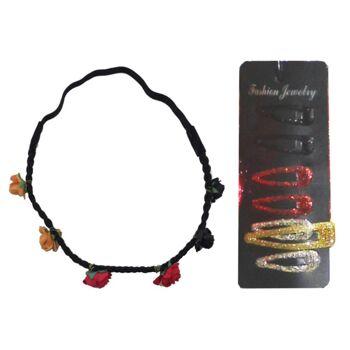17-80706, Haarspangen und Haarband