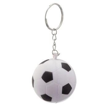 17-91510, Schlüsselanhänger Soft Fußball, Schlüsselkette