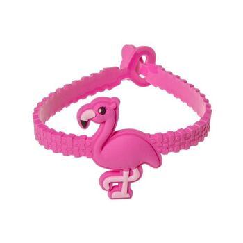 21-0415, Armband Flamingo