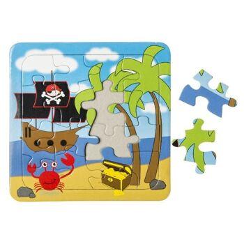 21-7356, Puzzle Pirat, Gesellschaftsspiel, Geschicklichkeitsspiel, Familienspiel