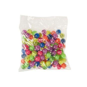 21-8628, Neon Flummi 27 mm, Springball, Flummiball