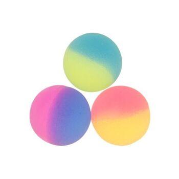 21-8629, Flummi 27 mm, Dopsball frosted, Springball, Flummiball
