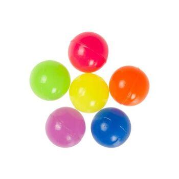 21-8630, Neon Flummi 30mm Dopsball, Springball, Flummiball