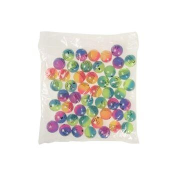 21-8631, Flummi 30 mm, Dopsball frosted, Springball, Flummiball