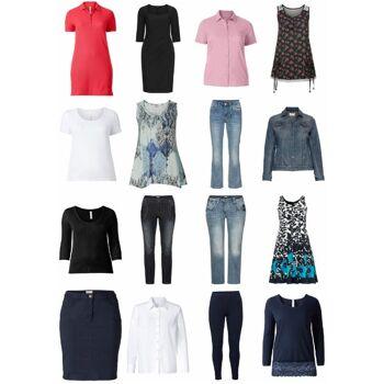 Damen Übergrößen Bekleidung Mode Restposten Kleider Textilien Mischpaket Plus Size