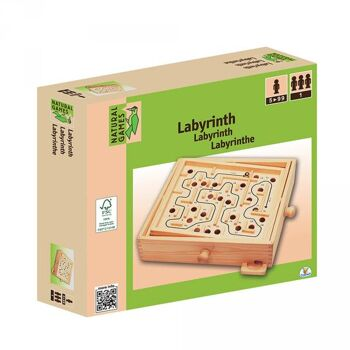 Natural Games Holz Labyrinth 30x25,5 cm