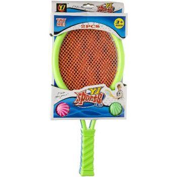21-4530, Tennis Set 2-teilig 40 cm, Badminton