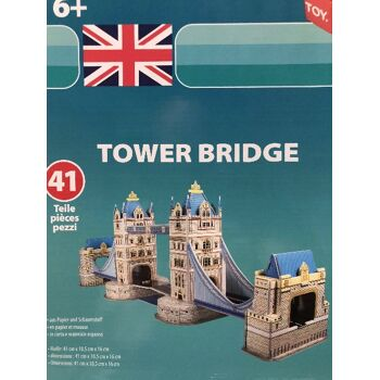 3D PUZZLE TOWER BRIDGE 41 TEILE