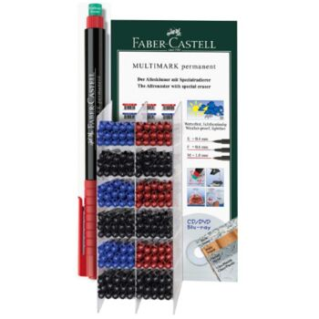12-151381, Multimarker Permanent FABER CASTELL im Aktionsdiplay
