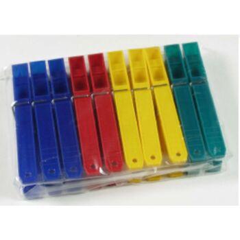 12-801189, Wäscheklammern 10er Pack, 100 mm