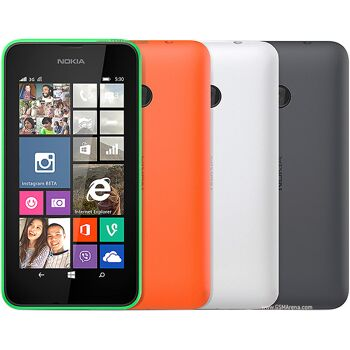 Nokia Lumia 530 Orange - Smartphone - Quadband