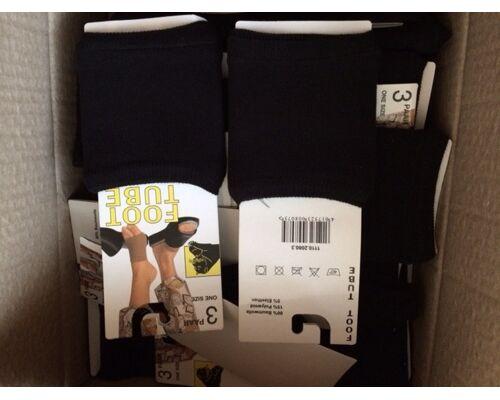 Tube Socken  in der Farbe weiß und schwarz