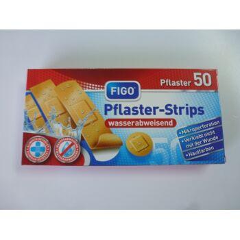 12-10004, FIGO Pflaster-Strips Standard 50er Pack, wasserabweisend