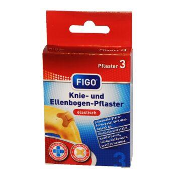 12-10043, Knie- und Ellenbogenpflaster  3er Pack, Kniepflaster+++++++++