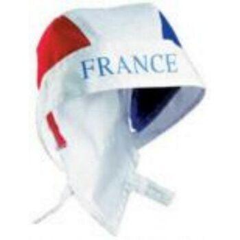 France Bandana mit Länder Aufdruck Fußball Nationalmannschaft Soccer WM EM Sport Art.-Nr.: Bandana