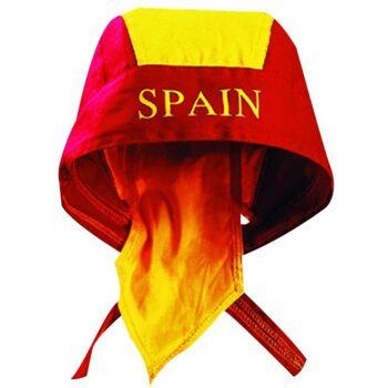 Spain Bandana mit Länder Aufdruck Fußball Nationalmannschaft Soccer WM EM Sport