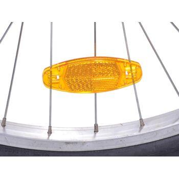 12-40048, Speichenreflektor Ovale, bruchsichere Qualitätsreflektoren