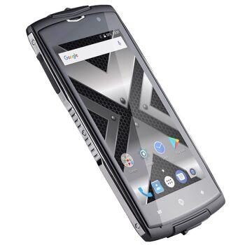 GoClever Quantum 500 Steel Outdoor Smartphone wasserdicht DualSim QuadCore 2GB LTE Baustellenhandy Outdoorsmartphone Baustelle Bruchsicher