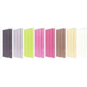 Organza Vorhang mit Kräuselband in 9 Farben