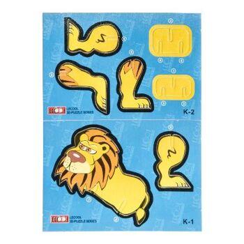 21-6904, Puzzle 3D Tiere