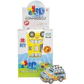 21-6932, Puzzle 3D Autos