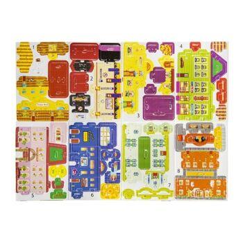 21-6948, Puzzle 3D Häuser