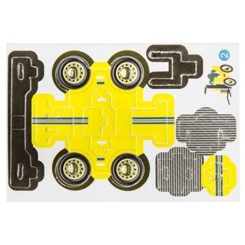 21-6949, Puzzle 3D Autos