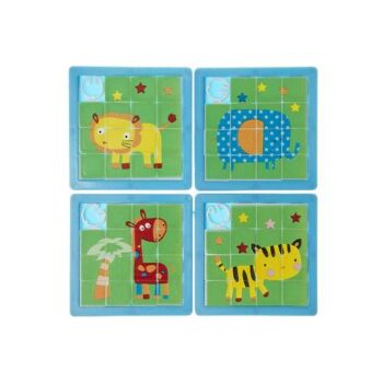 21-7080, Schiebepuzzle Tiere