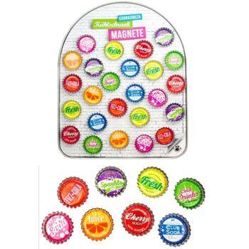 27-80263, Magnet Kronkorkenmagnet, ideal für Kühlschrank, Pinnwand, Flipboard, usw