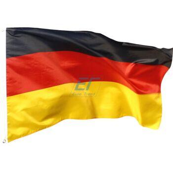 Deutschland Fahne 150 x 90cm mit Metallösen